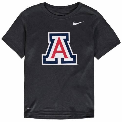 ナイキ NIKE アリゾナ 子供用 ロゴ レジェンド パフォーマンス Tシャツ キッズ ベビー マタニティ トップス ジュニア 【 Arizona Wildcats Youth Logo Legend Performance T-shirt - Anthracite 】 Anthracite