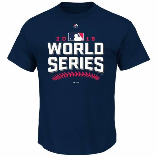 マジェスティック MAJESTIC シリーズ Tシャツ 【 MLB 2016 WORLD SERIES TSHIRT NAVY 】 メンズファッション トップス カットソー 送料無料