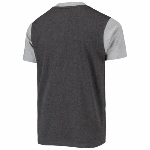 GARB フロリダ スケートボード 子供用 ヘンリー Tシャツ チャコール キッズ ベビー マタニティ トップス ジュニア 【 Florida State Seminoles Youth Reece Henley T-shirt - Charcoal 】 Charcoal