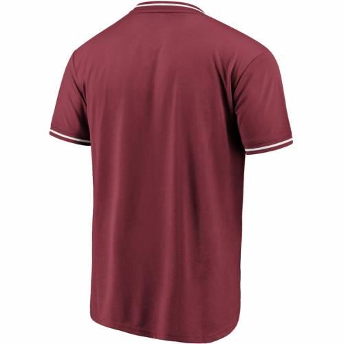 NFL PRO LINE BY FANATICS BRANDED アリゾナ カーディナルス ブイネック Tシャツ 赤 カーディナル メンズファッション トップス カットソー メンズ 【 Arizona Cardinals True Classics V-neck T-shirt - Cardinal