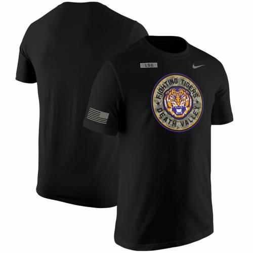 ナイキ NIKE タイガース Tシャツ 【 LSU TIGERS SALUTE TO SERVICE TSHIRT BLACK 】 メンズファッション トップス カットソー 送料無料