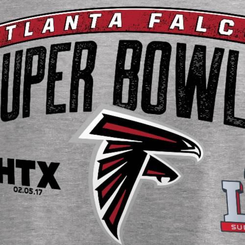 NFL PRO LINE BY FANATICS BRANDED アトランタ ファルコンズ Tシャツ 灰色 グレー グレイ メンズファッション トップス カットソー メンズ 【 Atlanta Falcons Super Bowl Li Bound Counter T-shirt - Heathered Gray