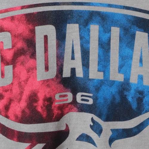 アディダス ADIDAS ダラス パフォーマンス Tシャツ 灰色 グレー グレイ 【 GRAY ADIDAS FC DALLAS SMOKE OUT PERFORMANCE TSHIRT HEATHERED 】 メンズファッション トップス Tシャツ カットソー