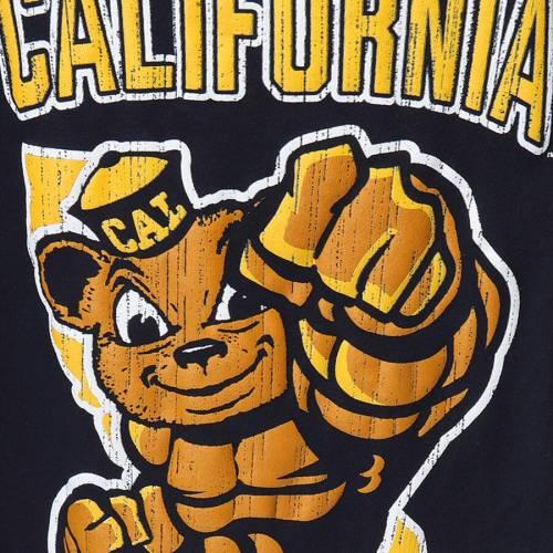 チャンピオン CHAMPION ベアーズ 子供用 Tシャツ 紺 ネイビー キッズ ベビー マタニティ トップス ジュニア 【 Cal Bears Youth Strong Mascot T-shirt - Navy 】 Navy