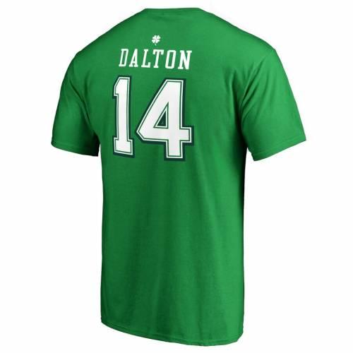 注目ブランド ファナティクス NFL PRO LINE BY FANATICS DALTON BRANDED ANDY BRANDED プロ シンシナティ ベンガルズ アイコン Tシャツ 緑 グリーン ST. PATRICK'S &【 NFL GREEN PRO LINE BY FANATICS BRANDED ANDY DALTON DAY ICON NAME NUMBER TSHIRT KELLY, ワーキングプロShop:c7ca2f83 --- delipanzapatoca.com