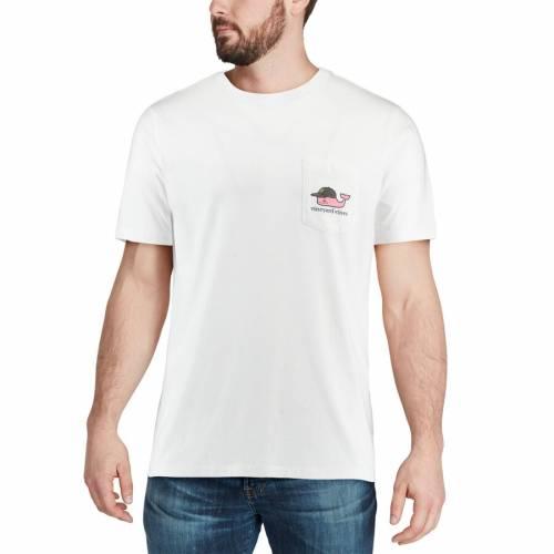 VINEYARD VINES ピッツバーグ 海賊団 ベースボール キャップ 帽子 Tシャツ 白 ホワイト メンズファッション トップス カットソー メンズ 【 Pittsburgh Pirates Baseball Cap T-shirt - White 】 White