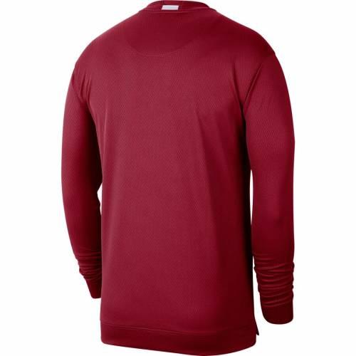 JORDAN BRAND バスケットボール スリーブ Tシャツ メンズファッション トップス カットソー メンズ 【 Oklahoma Sooners Basketball Spotlight Long Sleeve T-shirt - Crimson 】 Crimson