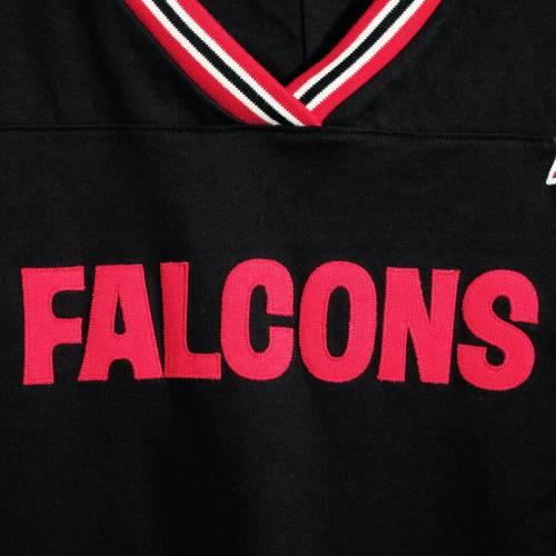 ミッチェル&ネス MITCHELL & NESS アトランタ ファルコンズ チーム スリーブ Tシャツ 黒 ブラック メンズファッション トップス カットソー メンズ 【 Atlanta Falcons Mitchell And Ness Big And Tall