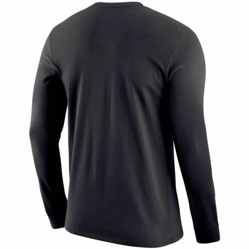 ナイキ NIKE スケートボード サイドライン レジェンド パフォーマンス スリーブ Tシャツ 黒 ブラック メンズファッション トップス カットソー メンズ 【 Appalachian State Mountaineers Sideline Le