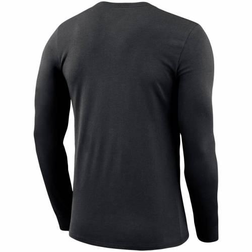 ナイキ NIKE タイガース レジェンド スリーブ パフォーマンス Tシャツ 黒 ブラック メンズファッション トップス カットソー メンズ 【 Lsu Tigers Bowtie Arch Legend Long Sleeve Performance T-shirt - Bla