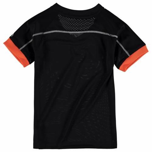 マジェスティック MAJESTIC ボルティモア オリオールズ 子供用 Tシャツ 黒 ブラック キッズ ベビー マタニティ トップス ジュニア 【 Baltimore Orioles Youth Emergence T-shirt - Black 】 Black