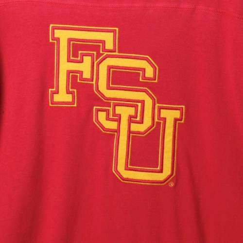 スターター STARTER フロリダ スケートボード フィールド ジャージ スリーブ Tシャツ メンズファッション トップス カットソー メンズ 【 Florida State Seminoles Field Jersey Long Sleeve T-shirt - Garnet