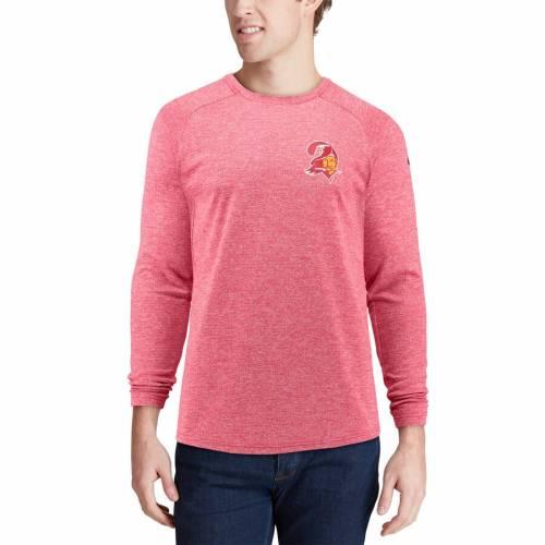 ナイキ NIKE バッカニアーズ ギア スタジアム スリーブ Tシャツ 赤 レッド メンズファッション トップス カットソー メンズ 【 Tampa Bay Buccaneers Fan Gear Stadium Throwback Long Sleeve T-shirt - Red 】 R
