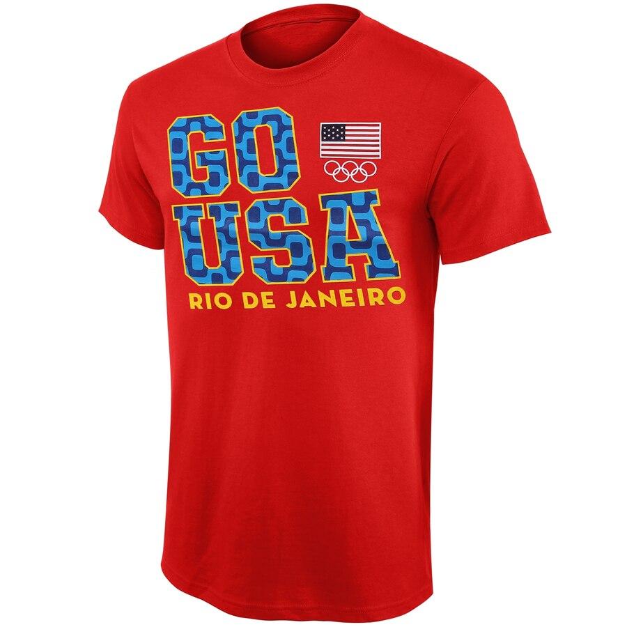 ナイキ NIKE チーム リオ Tシャツ 赤 レッド 【 TEAM RED NIKE USA GO RIO TSHIRT 】 メンズファッション トップス Tシャツ カットソー