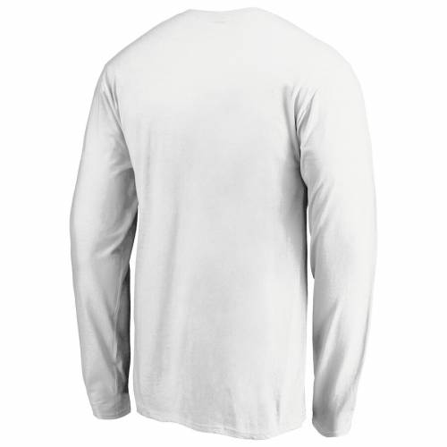 NFL PRO LINE BY FANATICS BRANDED インディアナポリス コルツ プロ スケートボード スリーブ Tシャツ 【 STATE SLEEVE INDIANAPOLIS COLTS ICONIC PRIDE LONG TSHIRT WHITE 】 メンズファッション トップス カットソ