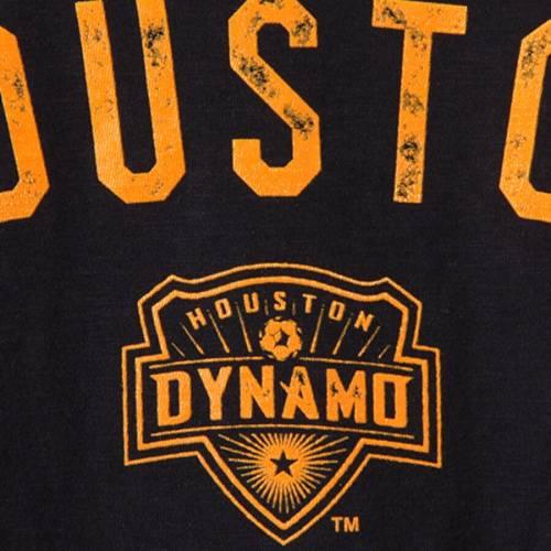 アディダス ADIDAS ヒューストン 子供用 シティ Tシャツ 黒 ブラック キッズ ベビー マタニティ トップス ジュニア 【 Houston Dynamo Youth City Worn Slub T-shirt - Black 】 Black