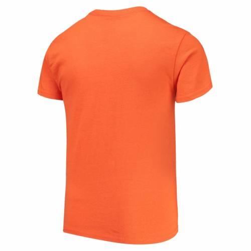 HENDRICK MOTORSPORTS TEAM COLLECTION ジョンソン 子供用 Tシャツ 橙 オレンジ キッズ ベビー マタニティ トップス ジュニア 【 Jimmie Johnson Youth T-shirt - Orange 】 Orange