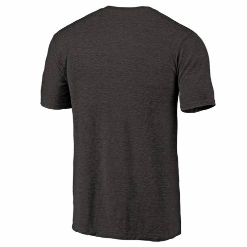 NFL PRO LINE BY FANATICS BRANDED プロ ジャクソンビル ジャガース ロゴ Tシャツ 黒 ブラック 【 NFL BLACK PRO LINE BY FANATICS BRANDED JACKSONVILLE JAGUARS PRIMARY LOGO LEFT CHEST DISTRESSED TRIBLEND TSHIRT HEATHERED 】 メン