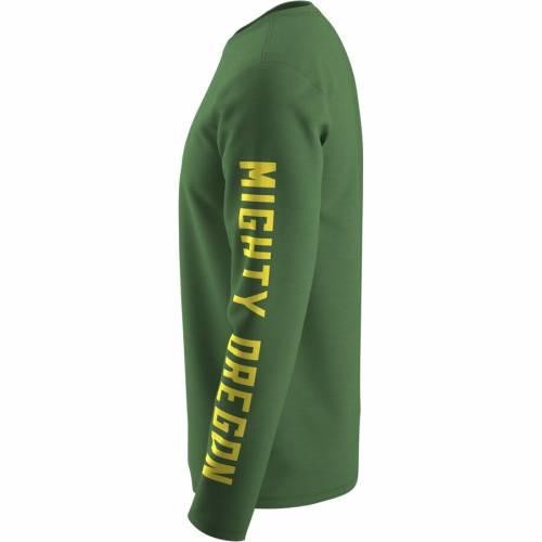 独特の上品 ナイキ NIKE オレゴン トレーナー パフォーマンス スリーブ Tシャツ 緑 グリーン 【 SLEEVE GREEN NIKE OREGON DUCKS WEEK ZERO TRAINER HOOK PERFORMANCE LONG TSHIRT 】 メンズファッション トップス Tシャツ カ, 質 ボッカデラベリタ 09a26f7f