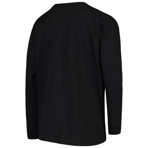 OUTERSTUFF ダラス 子供用 ダウン スリーブ Tシャツ 黒 ブラック キッズ ベビー マタニティ トップス ジュニア 【 Dallas Fuel Youth Overwatch League Double Down Long Sleeve T-shirt - Black 】 Black