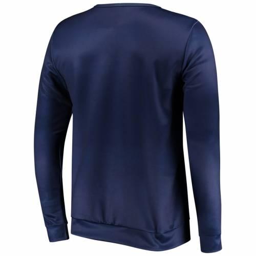 FOCO シアトル シーホークス スリーブ Tシャツ カレッジ 紺 ネイビー メンズファッション トップス カットソー メンズ 【 Seattle Seahawks Nflxfit Quicksnap Long Sleeve Crew T-shirt - College Navy 】 College