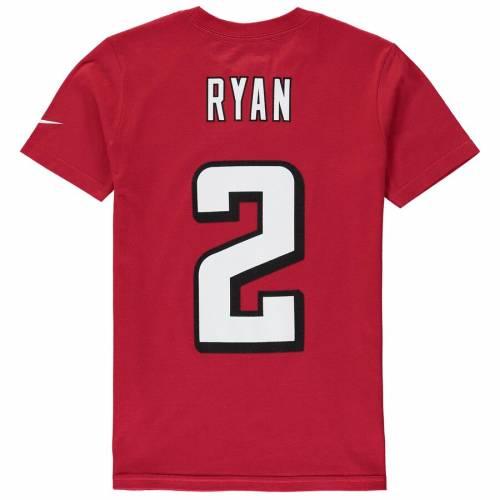 ナイキ NIKE アトランタ ファルコンズ 子供用 Tシャツ 赤 レッド 2.0 キッズ ベビー マタニティ トップス ジュニア 【 Matt Ryan Atlanta Falcons Youth Player Pride 2.0 Name And Number T-shirt - Red 】 Red