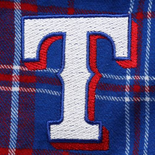 CONCEPTS SPORT テキサス レンジャーズ Tシャツ インナー 下着 ナイトウエア メンズ ナイト ルーム パジャマ 【 Texas Rangers Halftime Pants And T-shirt Set - Royal/red 】 Royal/red