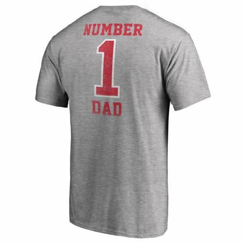 NFL PRO LINE BY FANATICS BRANDED バッカニアーズ Tシャツ 灰色 グレー グレイ メンズファッション トップス カットソー メンズ 【 Tampa Bay Buccaneers Big And Tall Greatest Dad Retro Tri-blend T-shirt - Heathered G