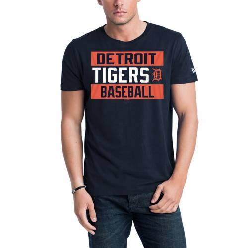 ニューエラ NEW ERA デトロイト タイガース ジャージ Tシャツ 紺 ネイビー 【 NAVY NEW ERA DETROIT TIGERS BARS JERSEY TSHIRT 】 メンズファッション トップス Tシャツ カットソー