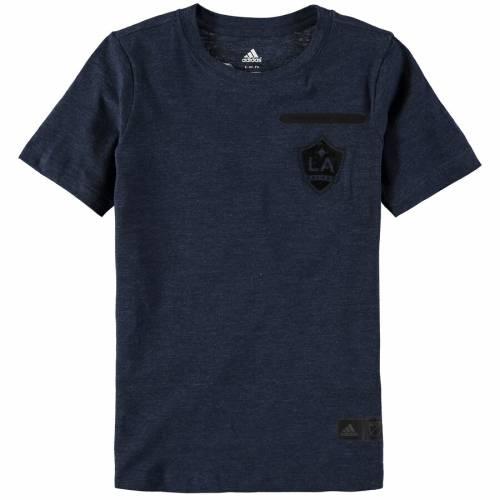 アディダス ADIDAS 子供用 Tシャツ 紺 ネイビー キッズ ベビー マタニティ トップス ジュニア 【 La Galaxy Youth Finished T-shirt - Navy 】 Navy