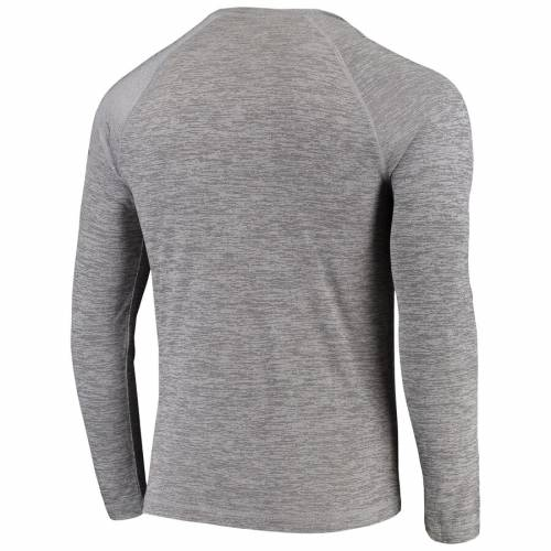 NFL PRO LINE BY FANATICS BRANDED プロ ヒューストン テキサンズ スリーブ ラグラン Tシャツ 灰色 グレー グレイ 【 NFL SLEEVE RAGLAN GRAY PRO LINE BY FANATICS BRANDED HOUSTON TEXANS ICONIC VITAL TO SUCCESS SYNTHETIC LONG