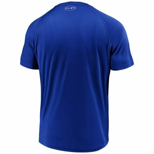 アンダーアーマー UNDER ARMOUR テキサス レンジャーズ パフォーマンス Tシャツ メンズファッション トップス カットソー メンズ 【 Texas Rangers Intensity Ball Performance T-shirt - Royal 】 Royal
