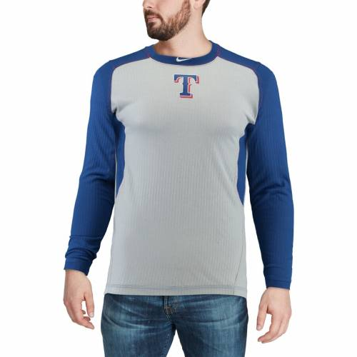 ナイキ NIKE テキサス レンジャーズ オーセンティック コレクション ゲーム スリーブ Tシャツ メンズファッション トップス カットソー メンズ 【 Texas Rangers Authentic Collection Game Long Sleeve
