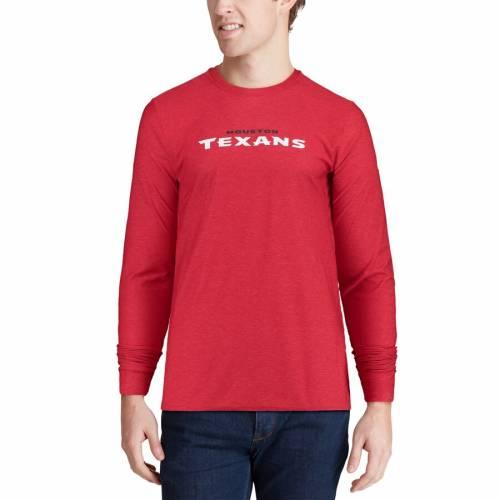 ナイキ NIKE ヒューストン テキサンズ サイドライン スリーブ Tシャツ 赤 レッド メンズファッション トップス カットソー メンズ 【 Houston Texans Sideline Player Long Sleeve T-shirt - Red 】 Red