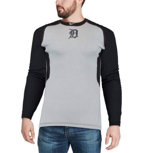 ナイキ NIKE デトロイト タイガース オーセンティック コレクション ゲーム スリーブ Tシャツ メンズファッション トップス カットソー メンズ 【 Detroit Tigers Authentic Collection Game Long Sleeve