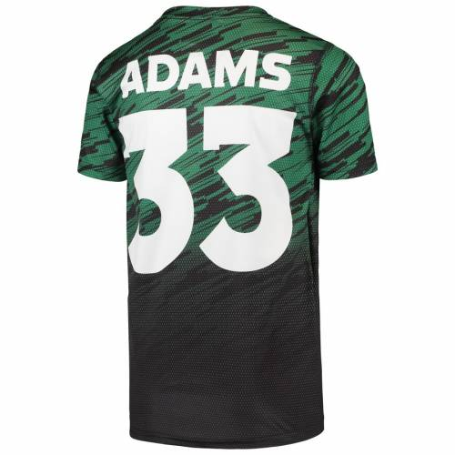 OUTERSTUFF アダムス ジェッツ 子供用 Tシャツ 緑 グリーン キッズ ベビー マタニティ トップス ジュニア 【 Jamal Adams New York Jets Youth Propulsion Sublimated Name And Number T-shirt - Green 】 Green