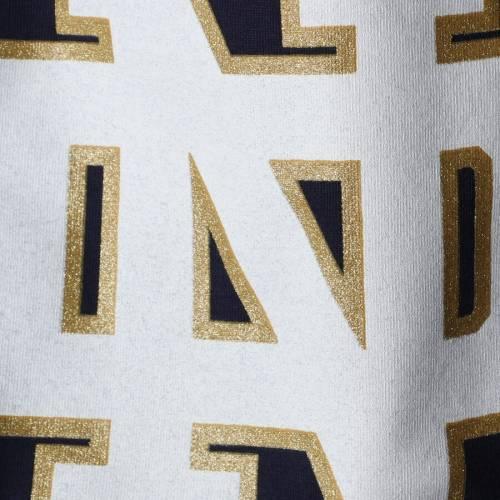 アンダーアーマー UNDER ARMOUR 子供用 紺 ネイビー キッズ ベビー マタニティ トップス Tシャツ ジュニア 【 Notre Dame Fighting Irish Girls Youth Varsity Pinhole T-shirt- Navy 】 Navy
