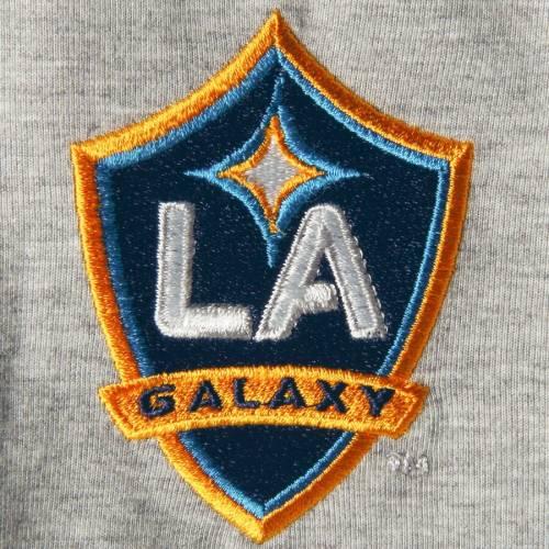 アディダス ADIDAS Tシャツ 灰色 グレー グレイ メンズファッション トップス カットソー メンズ 【 La Galaxy Culture Crew Climalite T-shirt - Heathered Gray 】 Heathered Gray
