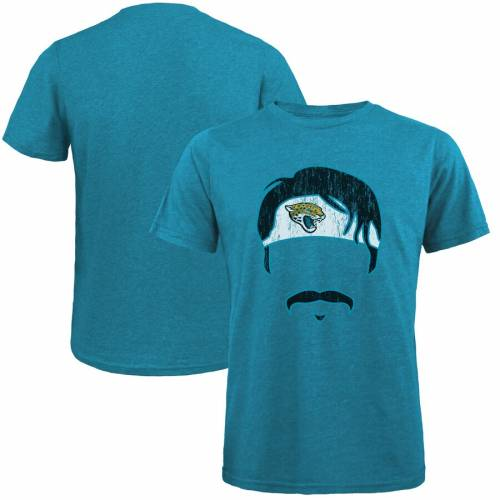 MAJESTIC THREADS ジャクソンビル ジャガース グラフィック Tシャツ 黒 ブラック メンズファッション トップス カットソー メンズ 【 Gardner Minshew Ii Jacksonville Jaguars Tri-blend Player Graphic T-shirt - B