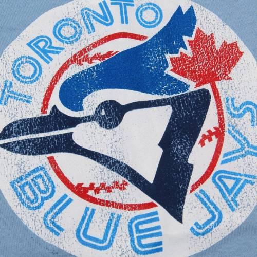 SOFT AS A GRAPE トロント 青 ブルー 子供用 クーパーズタウン Tシャツ キッズ ベビー マタニティ トップス ジュニア 【 Toronto Blue Jays Youth Cooperstown T-shirt - Light Blue 】 Light Blue