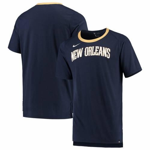 ナイキ NIKE バスケットボール Tシャツ 灰色 グレー グレイ メンズファッション トップス カットソー メンズ 【 New Orleans Pelicans Basketball Fan T-shirt - Gray 】 Navy