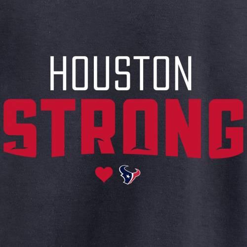 NFL PRO LINE BY FANATICS BRANDED ヒューストン テキサンズ プロ Tシャツ 【 HOUSTON TEXANS STRONG TSHIRT NAVY 】 メンズファッション トップス カットソー 送料無料