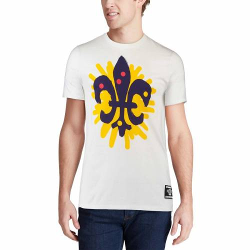ナイキ NIKE Tシャツ 白 ホワイト メンズファッション トップス カットソー メンズ 【 New Orleans Pelicans Pagowski Collab T-shirt - White 】 White