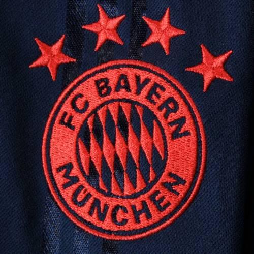 アディダス ADIDAS スリーブ Tシャツ 紺 ネイビー メンズファッション トップス カットソー メンズ 【 Bayern Munich Icons Long Sleeve T-shirt - Navy 】 Navy