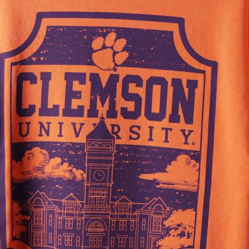 IMAGE ONE タイガース キャンパス アイコン Tシャツ 【 CLEMSON TIGERS COMFORT COLORS CAMPUS ICON TSHIRT ORANGE 】 メンズファッション トップス カットソー 送料無料
