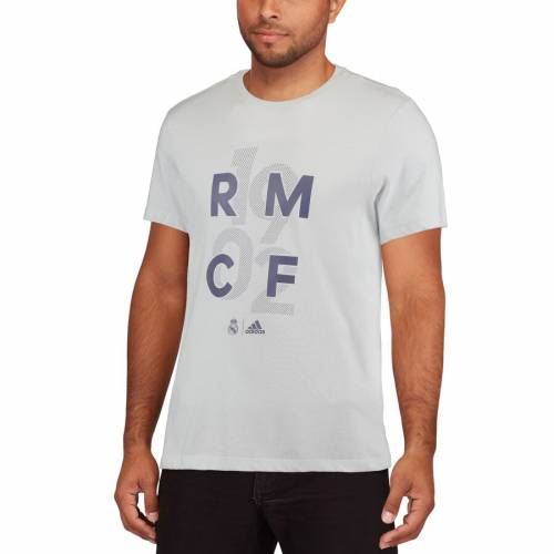 アディダス ADIDAS Tシャツ 白 ホワイト 【 WHITE ADIDAS REAL MADRID GR GO TSHIRT 】 メンズファッション トップス Tシャツ カットソー