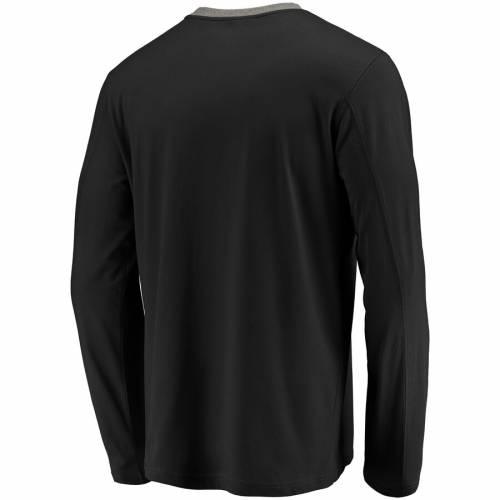 スポーツブランド カジュアル ファッション トップス 長袖 ファナティクス NFL PRO 送料無料新品 LINE BY FANATICS BRANDED メンズファッション 新商品 新型 SLEEVE BLACK ICONIC スリーブ Tシャツ プロ 黒色 ブラック ジャガーズ TSHIRT ジャクソンビル
