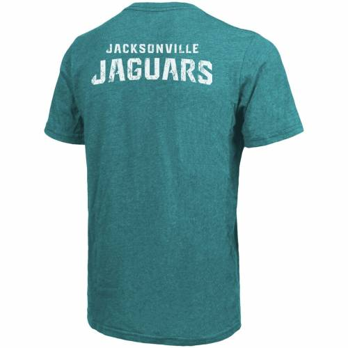 MAJESTIC THREADS ジャクソンビル ジャガース Tシャツ メンズファッション トップス カットソー メンズ 【 Jacksonville Jaguars Tri-blend Pocket T-shirt - Teal 】 Teal