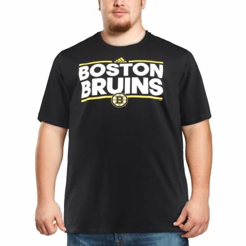 アディダス ADIDAS ボストン Tシャツ & 【 BOSTON BRUINS BIG TALL DASSLER TSHIRT BLACK 】 メンズファッション トップス カットソー 送料無料