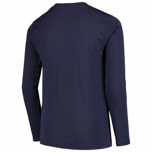 アディダス ADIDAS カンザス シティ 子供用 スリーブ Tシャツ 紺 ネイビー キッズ ベビー マタニティ トップス ジュニア 【 Sporting Kansas City Youth Flip Throw Long Sleeve T-shirt - Navy 】 Navy